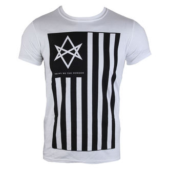 tričko pánské Bring Me The Horizon - Antivist Mens - White - ROCK OFF - BMHTS02