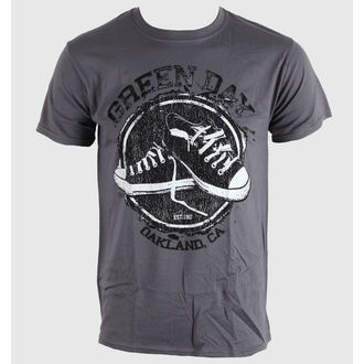 tričko pánské Green Day - Converse - Grey - BRAVADO EU - GDTS04MG