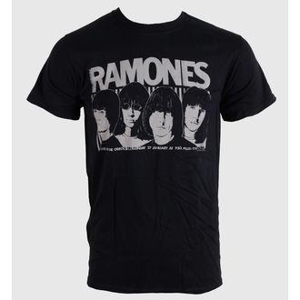 tričko pánské Ramones - Odeon Poster - Blk - BRAVADO EU
