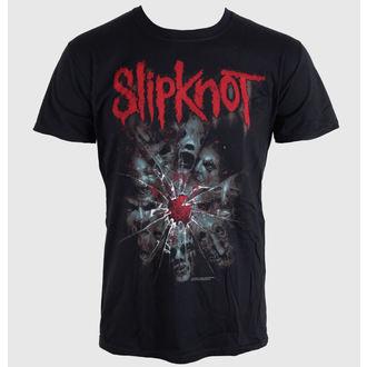 tričko pánské Slipknot - Shatte - Blk - BRAVADO EU - SKTS09MB