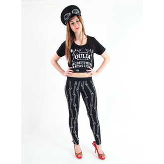 tričko dámské (top) KILLSTAR - Ouija Crop - Black
