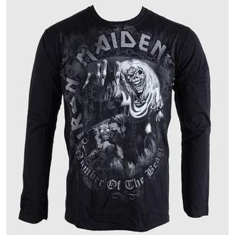 tričko pánské s dlouhým rukávem Iron Maiden - NOTB - Grey - BRAVADO EU, BRAVADO EU, Iron Maiden
