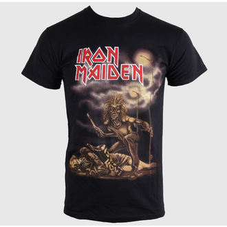 tričko pánské Iron Maiden - Sanctuary - Black - ROCK OFF - IMTEE31MB