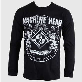 tričko pánské s dlouhým rukávem Machine Head - Classic Crest - BRAVADO EU, BRAVADO EU, Machine Head