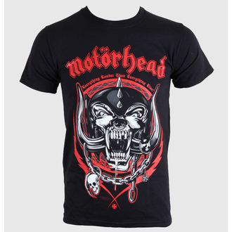 tričko pánské Motörhead - Lightning Wreath - Black - BRAVADO EU