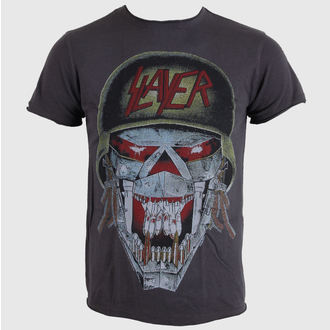 tričko pánské AMPLIFIED - Slayer - Army - Charcoal - AV210SLY