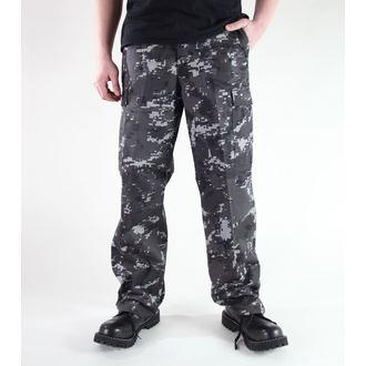 kalhoty pánské MIL-TEC - US Ranger Hose - Black Digital, MIL-TEC