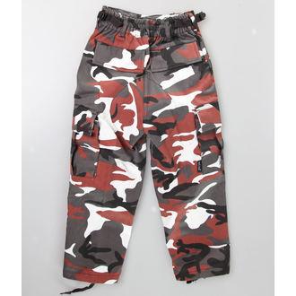 kalhoty dětské MIL-TEC - US Hose - Red Camo, MIL-TEC