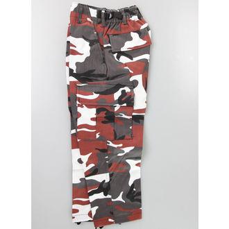kalhoty dětské MIL-TEC - US Hose - Red Camo