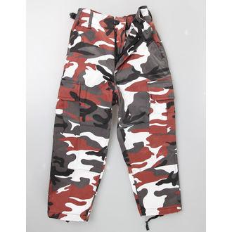 kalhoty dětské MIL-TEC - US Hose - Red Camo - 12031082