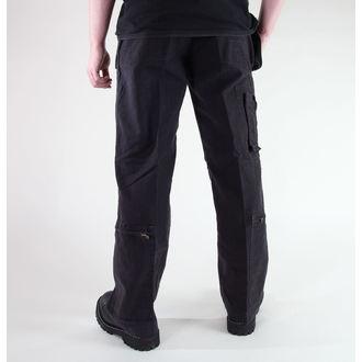 kalhoty pánské MIL-TEC - Fliegerhose - Prewash Black - 11502002