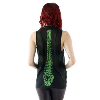 košile dámská IRON FIST - Spineless Peter Pan Collar - Black - IFLTNK12947S14