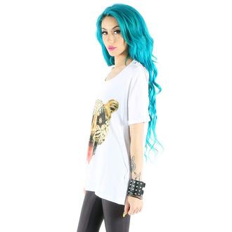tričko dámské IRON FIST - Here Kitty Drape - White