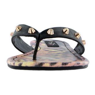 sandály dámské IRON FIST - Here Kitty - Leopard