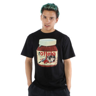 tričko pánské IRON FIST - Rotella - Black - IFMSST12724S14
