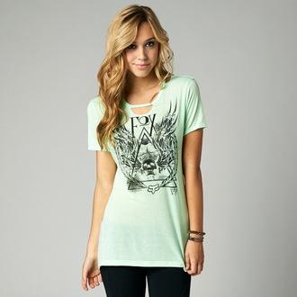 tričko dámské (top) FOX - Eve, FOX