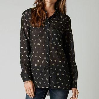 košile dámská FOX - Adlibs - Black