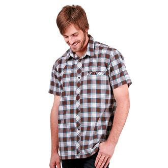 košile pánská FUNSTORM - Bock - 04 Brown, FUNSTORM