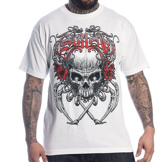 tričko pánské SULLEN - Death Badge - WHT