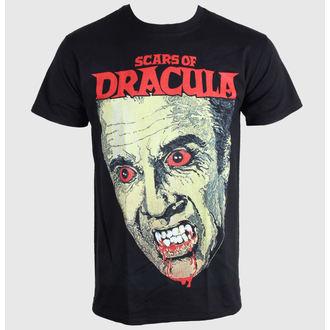 tričko pánské Horror - Scars Of Dracula - PLASTIC HEAD - PH7650