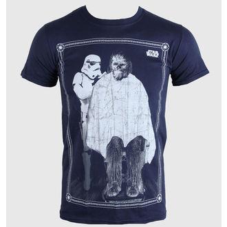 tričko pánské Star Wars - Chewie Haircut - PLASTIC HEAD - PH8055