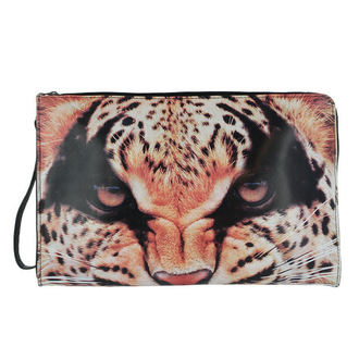 kabelka -psaníčko- IRON FIST - Here Kitty Clutch - Leopard, IRON FIST