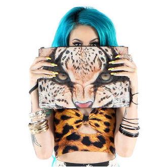 kabelka -psaníčko- IRON FIST - Here Kitty Clutch - Leopard