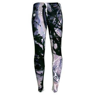 kalhoty dámské (leginy) DISTURBIA - Static, DISTURBIA