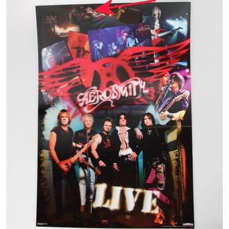 obraz 3D Aerosmith - Pyramid Posters - PPLA70121, PYRAMID POSTERS, Aerosmith