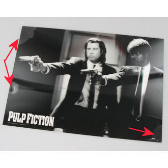 obraz 3D Pulp Fiction - Guns - Pyramid Posters -  PPL70097, PYRAMID POSTERS