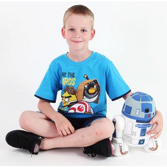 set chlapecký  ( tričko,kraťasy) TV MANIA - Angry Birds / Star Wars - Blue - SWAB 339