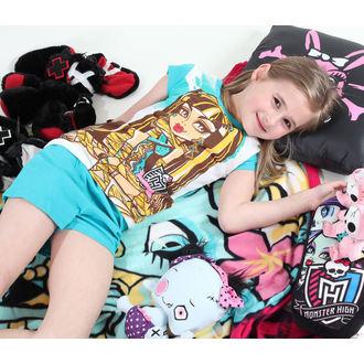 pyžamo dívčí TV MANIA - Monster High - White/Turquise