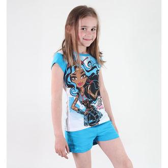 pyžamo dívčí TV MANIA - Monster High - White/Blue