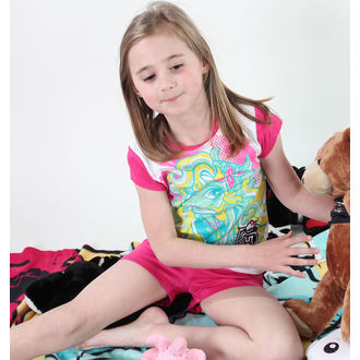 pyžamo dívčí TV MANIA - Monster High - White/Pink