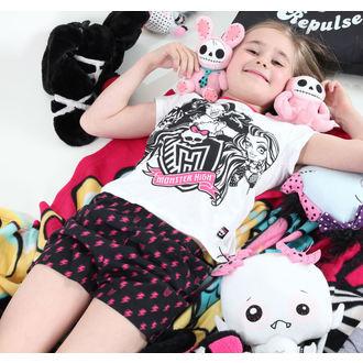 pyžamo dívčí TV MANIA - Monster High - White - MOH 578