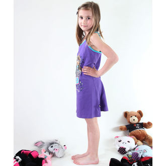 šaty dívčí  TV MANIA Monster High - Purple