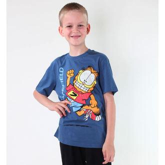 tričko chlapecké TV MANIA - Garfield - Blue, TV MANIA