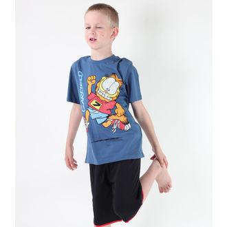 tričko chlapecké TV MANIA - Garfield - Blue