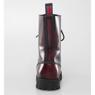 boty NEVERMIND - 10 dírkové - Bordeaux Polido - 10110S