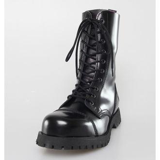 boty NEVERMIND - 10 dírkové - Black Polido, NEVERMIND
