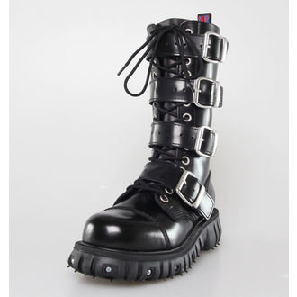 boty NEVERMIND - 14 dírkové - Polido Black, NEVERMIND