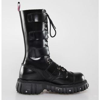 boty NEVERMIND - 14 dírkové - Polido Black