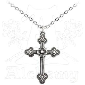 obojek Gothic Devotion Cross - ALCHEMY GOTHIC - P698