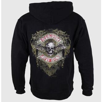 mikina pánská Avenged Sevenfold  - Flourish Zip -  ROCK OFF, ROCK OFF, Avenged Sevenfold