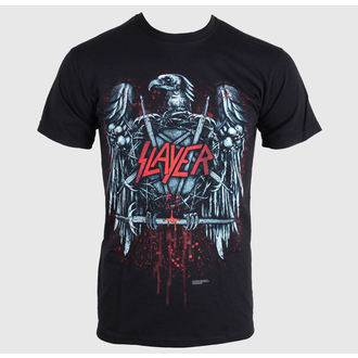tričko pánské Slayer - Ammunition Eagle -  Black - ROCK OFF - SLAYTEE14