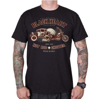 tričko pánské BLACK HEART - REVELATION - BLACK, BLACK HEART