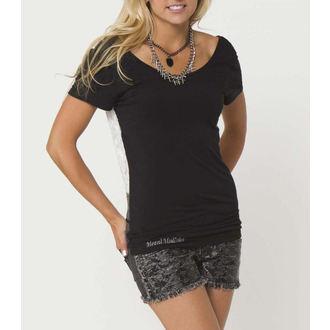 tričko dámské (top) METAL MULISHA - LEIA - BLK