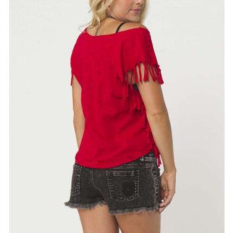 tričko dámské ( top ) METAL MULISHA - REAPER - RED