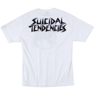 tričko pánské METAL MULISHA - Suicidal Tendencies - FLIPPED UP - WHT