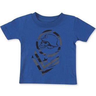 tričko dětské ( chlapecké ) METAL MULISHA - MISFIT- BLU